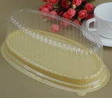Clear hard plastic cupcake packaging boxes FD-039